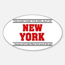'Girl From New York' Decal