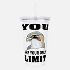 YOUR LIMIT Acrylic Double-wall Tumbler