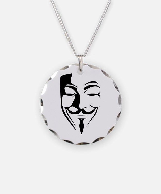 Fawkes Silhouette Necklace