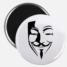 "Fawkes Silhouette 2.25"" Magnet (10 pack)"