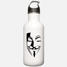 Fawkes Silhouette Water Bottle