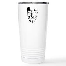 Fawkes Silhouette Travel Mug
