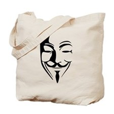 Fawkes Silhouette Tote Bag