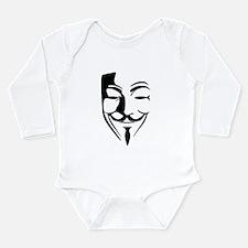 Fawkes Silhouette Long Sleeve Infant Bodysuit