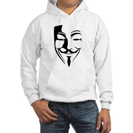 Fawkes Silhouette Hooded Sweatshirt