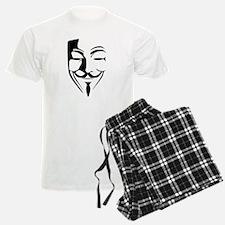 Fawkes Silhouette Pajamas