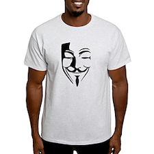 Fawkes Silhouette T-Shirt