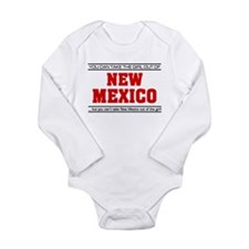 'Girl From New Mexico' Long Sleeve Infant Bodysuit