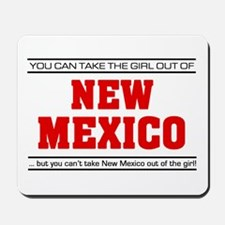 'Girl From New Mexico' Mousepad
