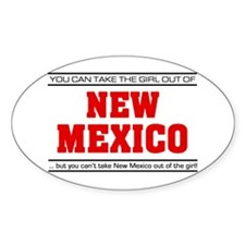'Girl From New Mexico' Decal