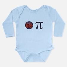 Bacon Pi Pie Long Sleeve Infant Bodysuit