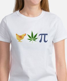 Chicken Pot Pi Pie Women's T-Shirt