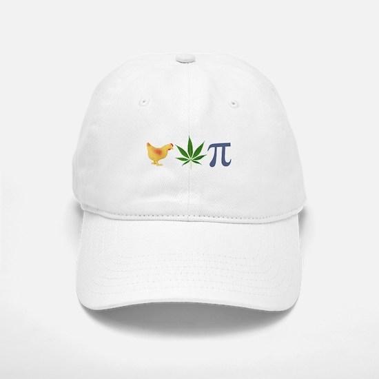 Chicken Pot Pi Pie Baseball Baseball Cap