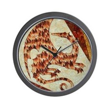 Dragon of Fire Wall Clock