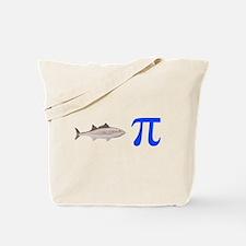 Fish Pi Pie Tote Bag