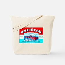 Wisconsin Beer Label 4 Tote Bag