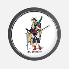 St. Theodore Wall Clock