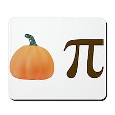 Pumpkin Pi Pie Mousepad