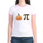 Pumpkin Pi Pie Jr. Ringer T-Shirt