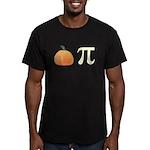 Pumpkin Pi Pie Men's Fitted T-Shirt (dark)