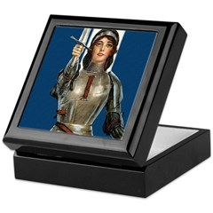 St. Joan Keepsake Box