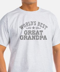 World's Best Great Grandpa T-Shirt