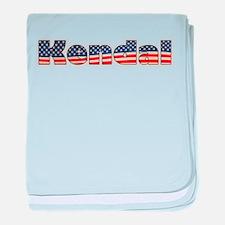 American Kendal baby blanket
