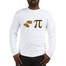 Pecan Pie Pi Long Sleeve T-Shirt