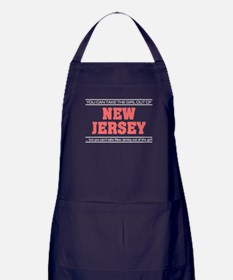 'Girl From New Jersey' Apron (dark)
