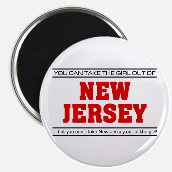 'Girl From New Jersey' Magnet
