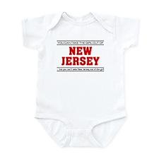 'Girl From New Jersey' Infant Bodysuit
