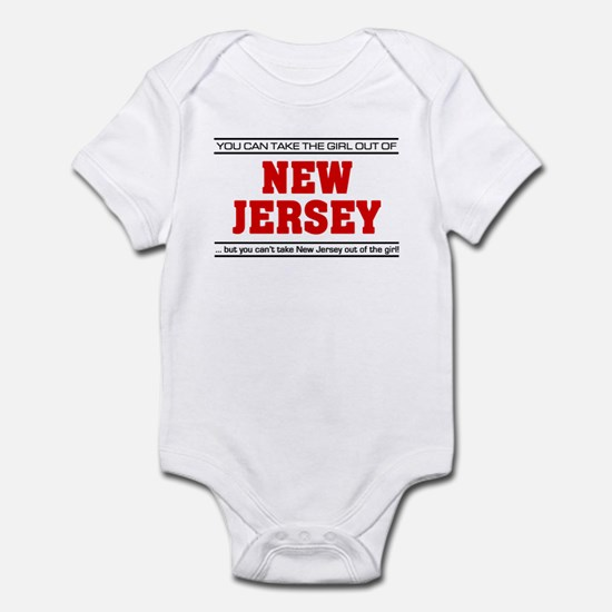 'Girl From New Jersey' Infant Bodysuit