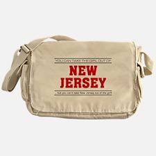 'Girl From New Jersey' Messenger Bag