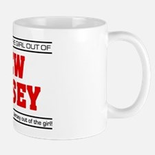 'Girl From New Jersey' Small Small Mug