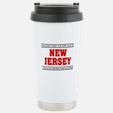 'Girl From New Jersey' Stainless Steel Travel Mug