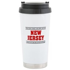 'Girl From New Jersey' Travel Mug