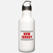 'Girl From New Jersey' Water Bottle