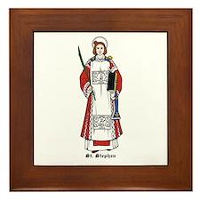 St. Stephen Framed Tile