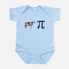 Cow Pie Pi Infant Bodysuit