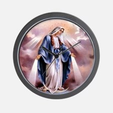 Our Lady Wall Clock