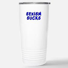 Sexism sucks Stainless Steel Travel Mug