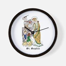 St. Sophia Wall Clock