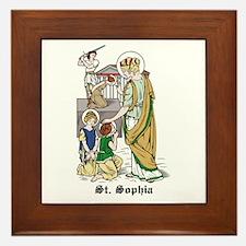 St. Sophia Framed Tile