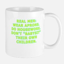 Real men wear aprons Mug