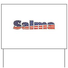 American Salma Yard Sign