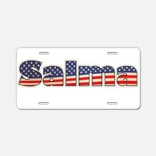 American Salma Aluminum License Plate