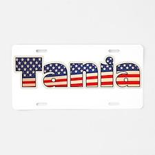 American Tania Aluminum License Plate