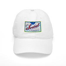 Nebraska Beer Label 3 Baseball Cap