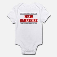 'Girl From New Hampshire' Infant Bodysuit