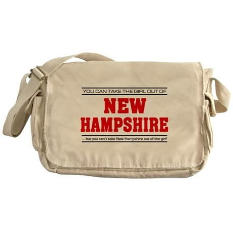 'Girl From New Hampshire' Messenger Bag